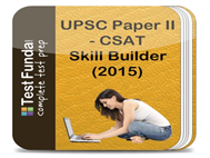 Compare UPSC Paper II - CSAT Skill Builder at Compare Hatke